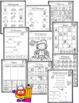 Halloween Math and ELA Worksheets for Kindergarten