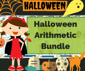 Halloween Math and Halloween activities - My Math centers