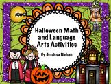 Halloween Math and Language Arts Activities