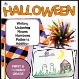 Halloween Math and Language Fun Print and Go