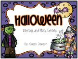 Spooky Centers (Halloween Math and Literacy Stations)