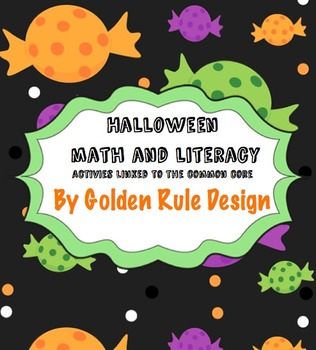 Halloween Math and Literacy Activity Packet aligned to the Common Core Standards
