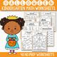 Halloween Math and Literacy BUNDLE, Halloween Activities For Kindergarten