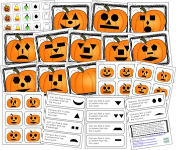 Halloween Math and Literacy Bundle