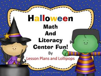 Halloween Math and Literacy Center Fun!