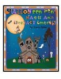Halloween Math and Literacy Center Fun