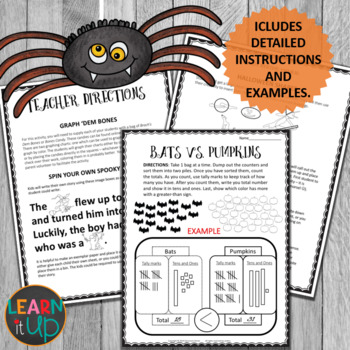 Halloween Math and Literacy Centers
