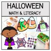 Halloween Math and Literacy Activities | Preschool Hallowe