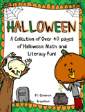 Halloween Math and Literacy Fun Activities