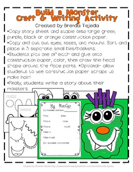 Halloween Math and Literacy Fun Pack