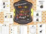 Halloween Math and Literacy Fun - Primary Unit
