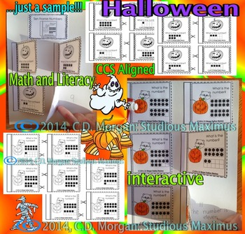 Halloween - Math and Literacy Interactive Activities. CCS Aligned