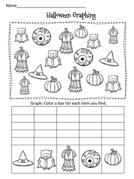 Halloween Math and Literacy Mega Pack