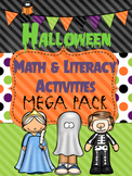 Halloween Math and Literacy Mega Pack