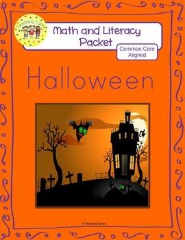 Halloween Worksheets Emergent Reader Task Cards