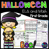 Halloween Activities for First Grade | Halloween Math Worksheets & Literacy