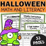 Halloween Worksheets