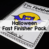 Halloween Math and Literacy Printables-(No Prep)