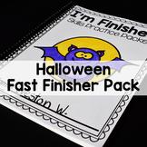Halloween Math and Literacy Printables-(No Prep)