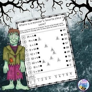 Halloween Math and Literacy Printables