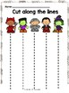 Halloween Math and Literacy Worksheets