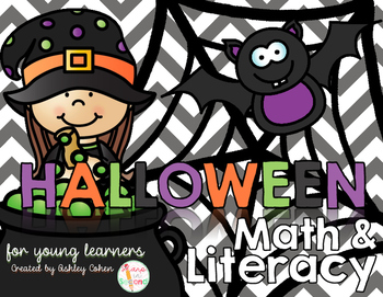 Halloween Math and Literacy for Young Learners