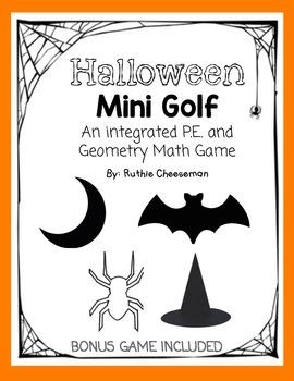 Halloween Math and P.E. Game