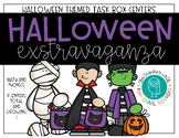 Halloween Math and Phonics Centers (Task Boxes)