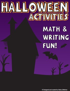 Halloween Math and Writing Activities Bundle!