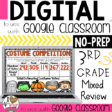 Halloween Math for Google Classroom