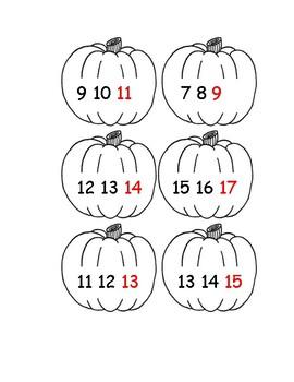 Halloween Math for Kindergarten