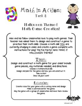 Halloween Math in Action: Ready-to-Go Open-Ended Math Tasks Common Core Aligned