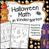 Halloween Math Activities in Kindergarten