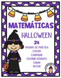 Halloween Math in Spanish