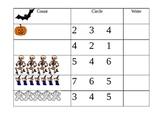 Halloween Math (#'s 1-6)
