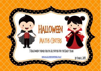 Halloween: Maths Centers