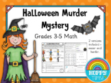 Halloween Math Murder Mystery