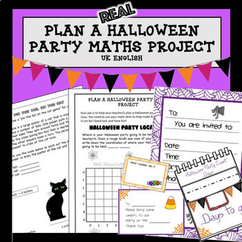 Halloween Maths Project Plan a Party PBL AUS UK