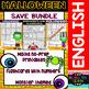 Halloween - Maths and Literacy - Save Growing Bundle