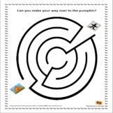 Halloween Maze Free Printable