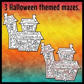 Halloween Maze Clip Art
