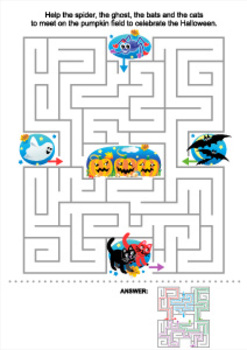 Halloween Maze, Commercial Use Allowed