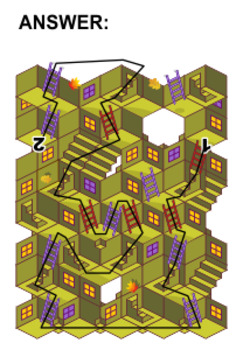 Halloween Maze Game with Stairs and Ladders, Commercial Use Allowed