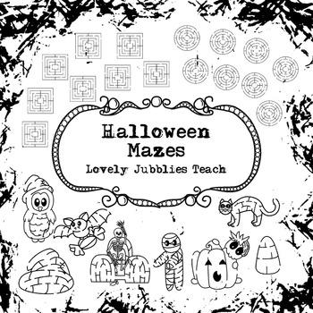 Halloween Mazes
