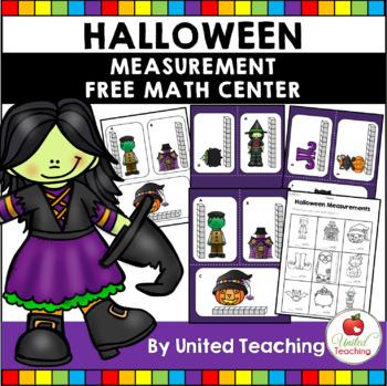Halloween Measurement Math Center
