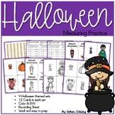 Halloween Measurement Math Center / Activity