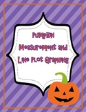 Halloween Measurement and Line Plot Graphing