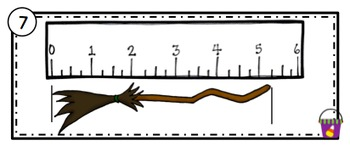 Halloween Measurement and Line Plots Scoot