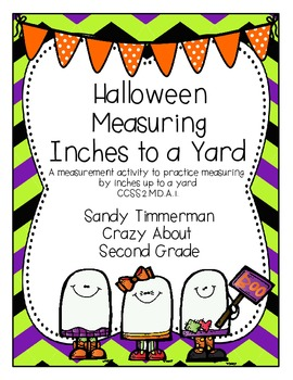 Halloween Measuring Inches to a Yard {CCSS 2.MD.A.1}