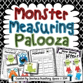 Halloween Measuring --- Monster Measuring Palooza Math Centers